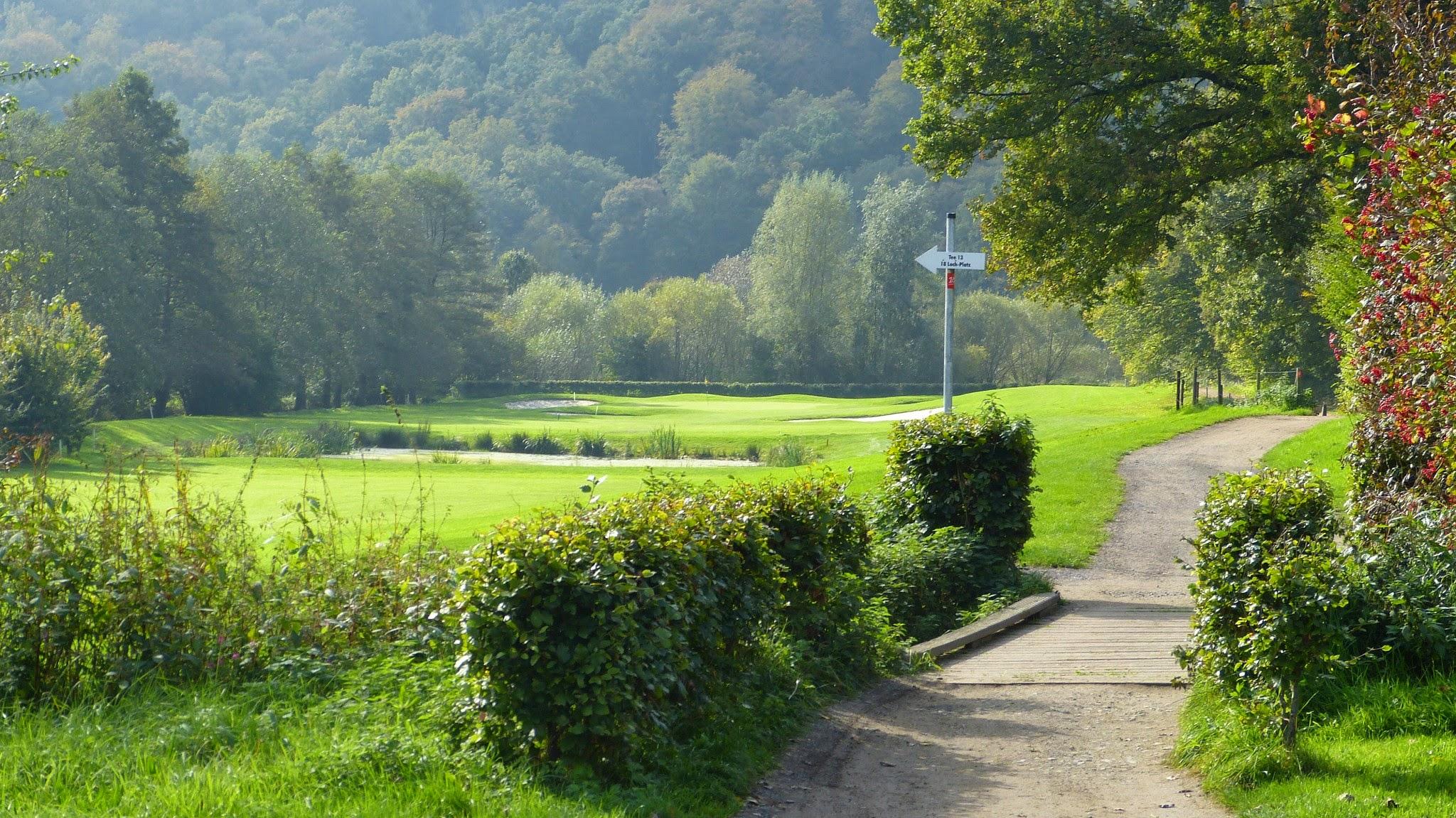 Golfplatz - Bahn13