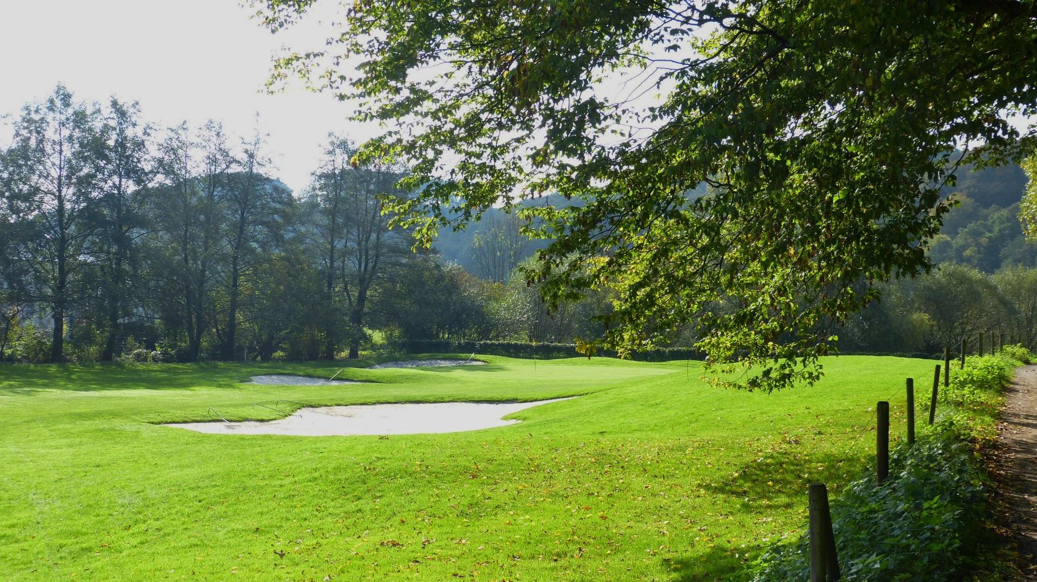 Golfplatz - Grün13
