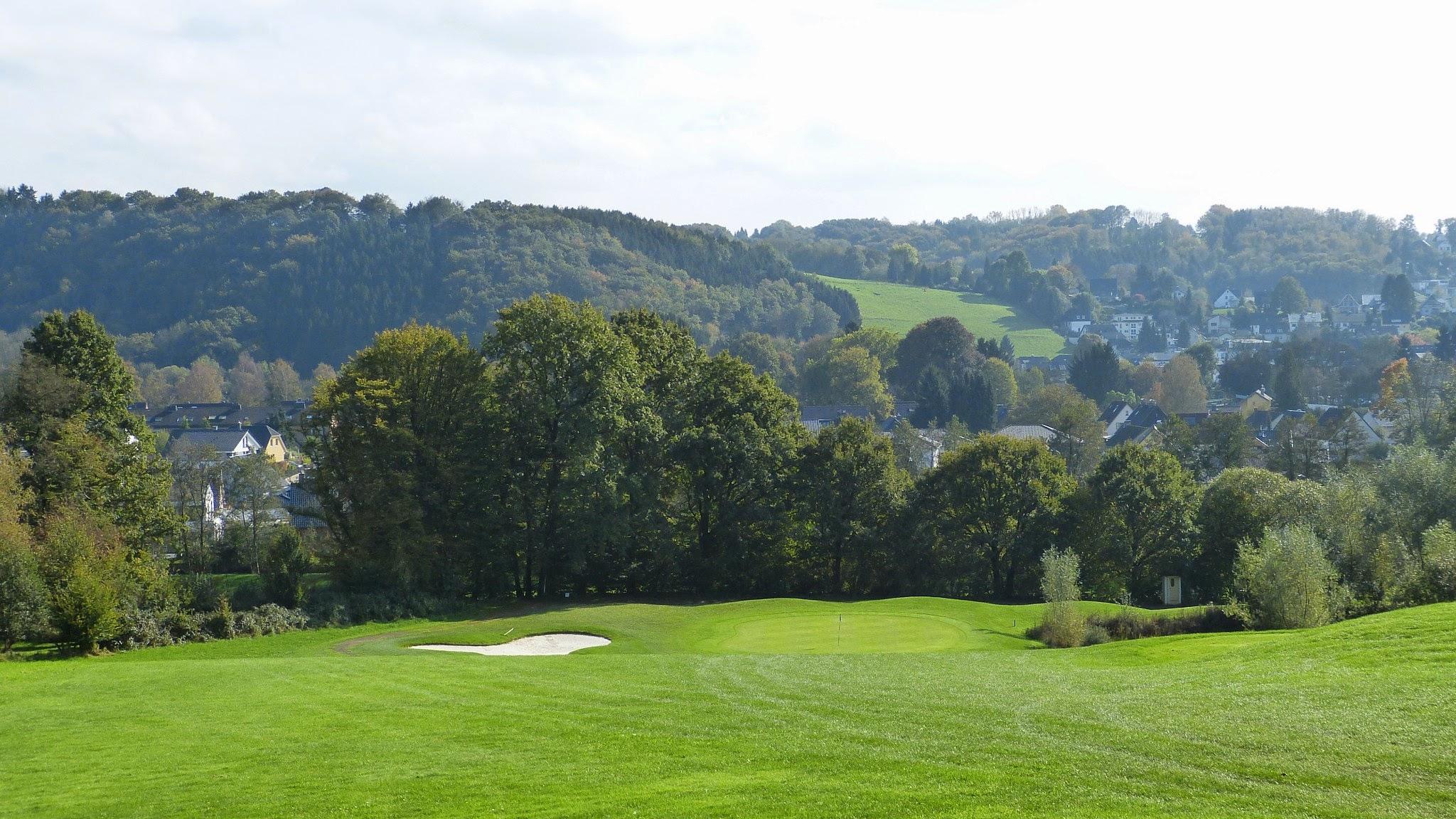 Golfplatz - Bahn17