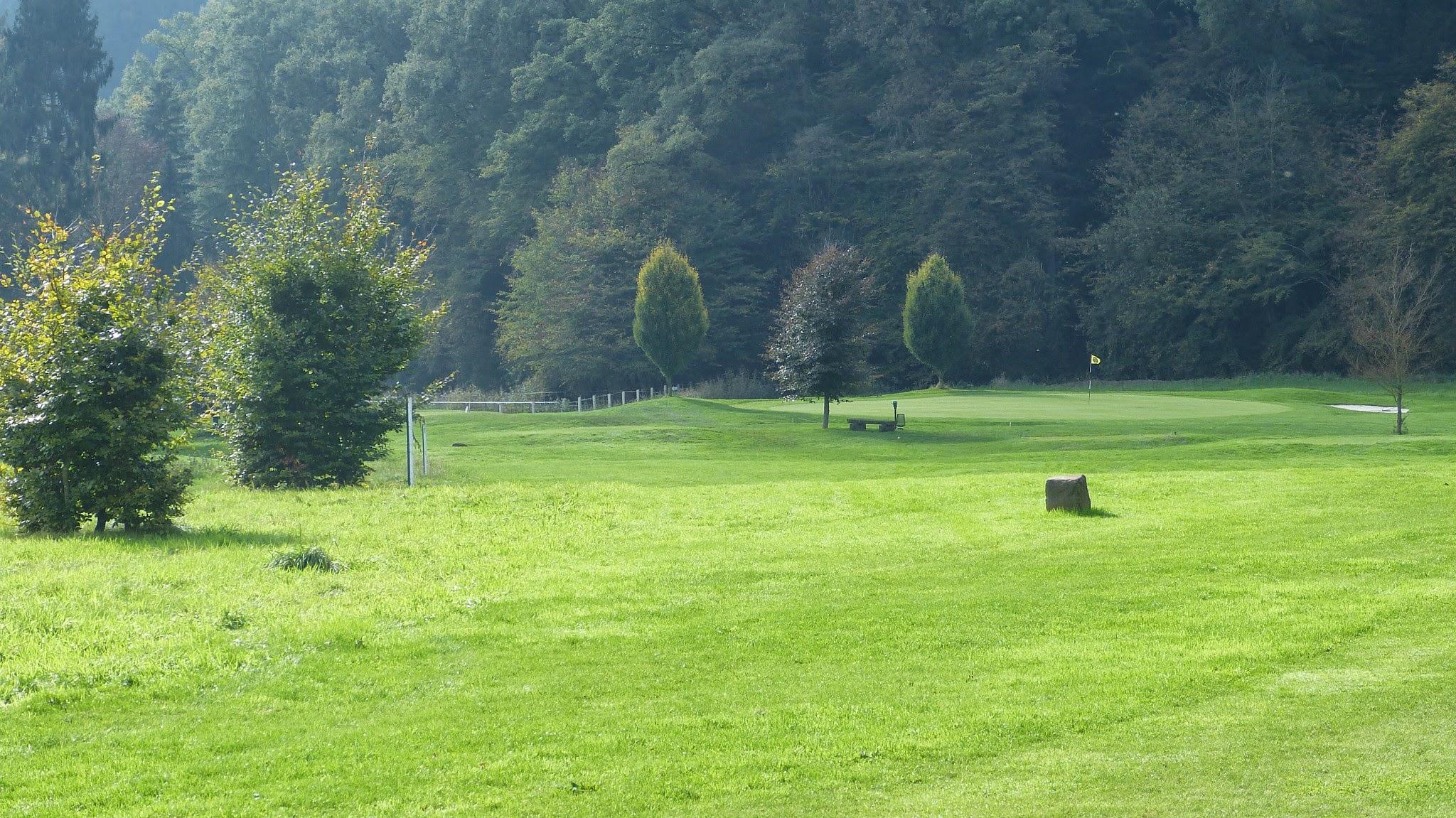 Golfplatz - Grün14 Blick von Bahn15