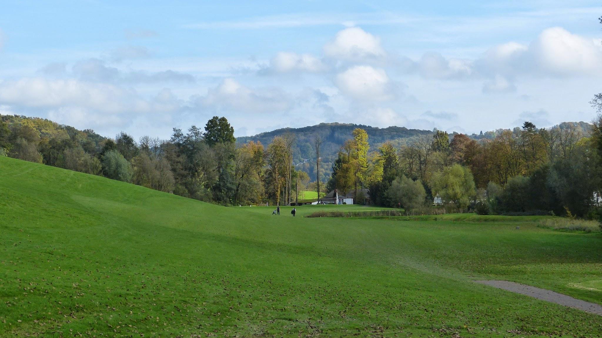 Golfplatz - Bahn18 vom Abschlag