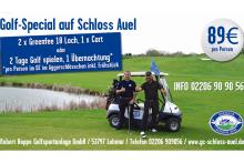 Golfspecial auf Schloss Auel