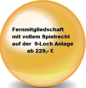 Fernmitgliedschaft GC Schloss Auel